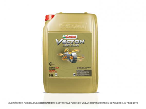 Aceite para Motor Castrol Vecton Long Drain 10W-40