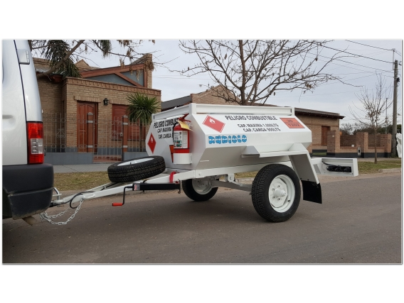 Acoplado Cisterna Combustible Para 1.000 Lts. Ci1001
