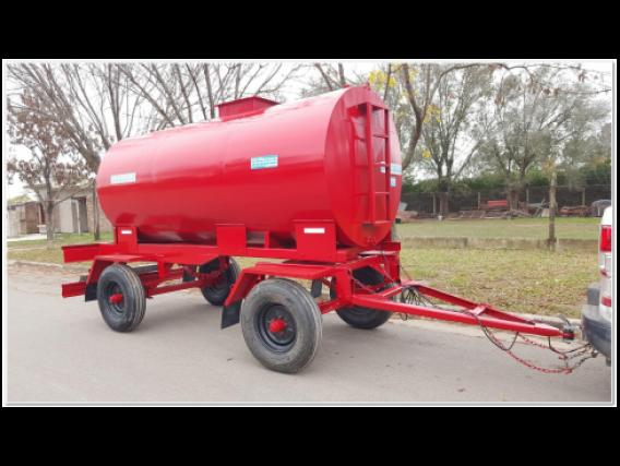 Acoplado Cisterna Para 5.000 Lts. Ci1006
