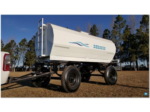 Acoplado Cisterna Para 7.000 Lts. Ci1008