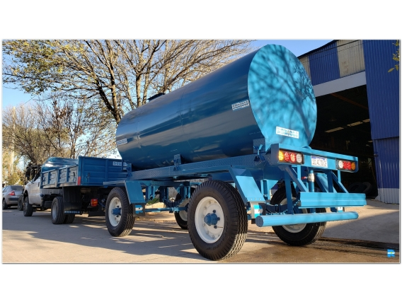 Acoplado Cisterna Rubiolo Para 15.000 Lts. Ci1012