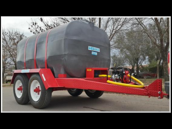Acoplado Cisterna Tanque Plastico 10.000 Lts. Cp1012