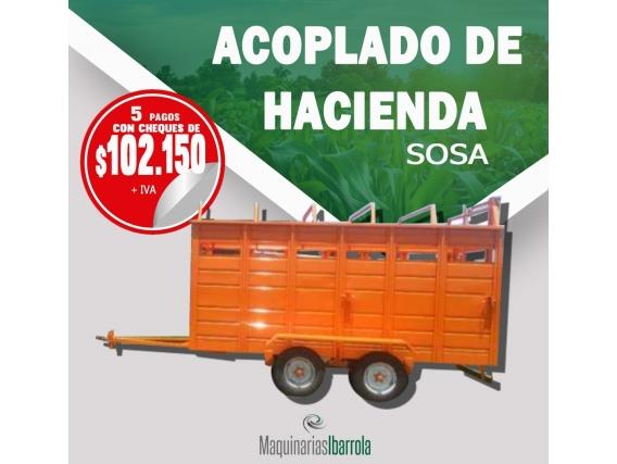 Acoplado De Hacienda Sosa