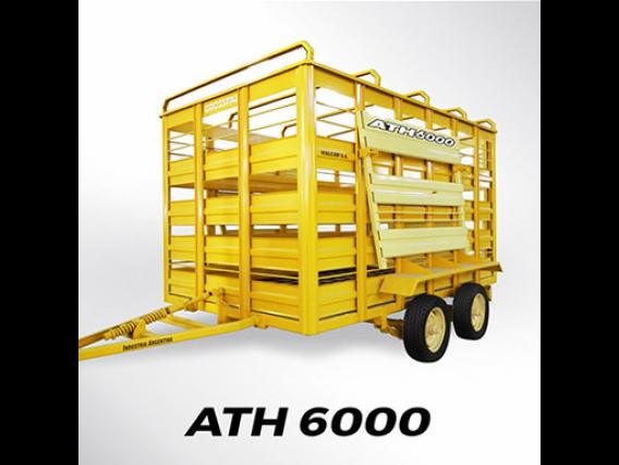 Acoplado Ganadero Grosspal Ath 6000