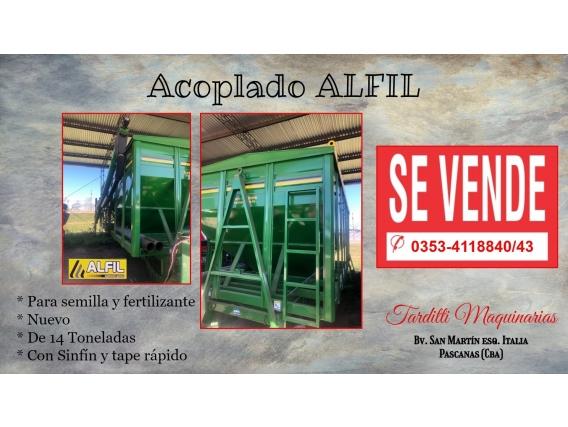 Acoplado Para Semilla Y Fertilizante - Alfil