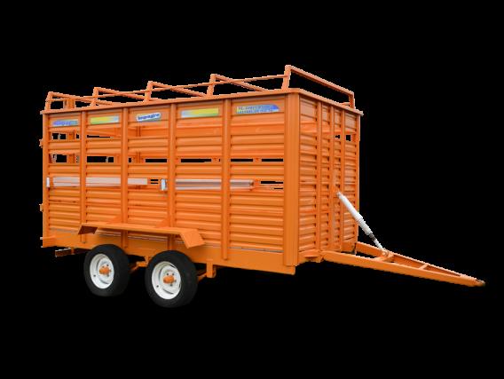 Acoplado para transporte de hacienda y usos múltiples Impagro