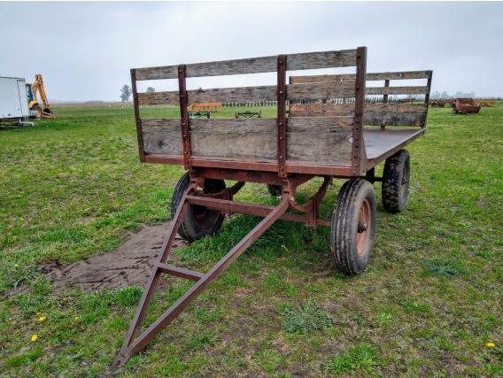Acoplado Rural De 3X2 Para 3Tn