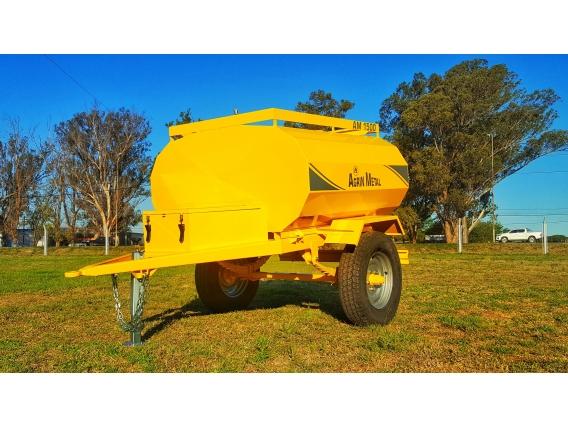 Acoplado Cisterna Agrinmetal Am 1500 / 1500 Lts
