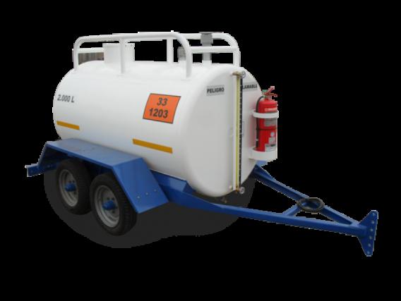 Acoplado Tque Cisterna P/combustible Bertotto-Boglione
