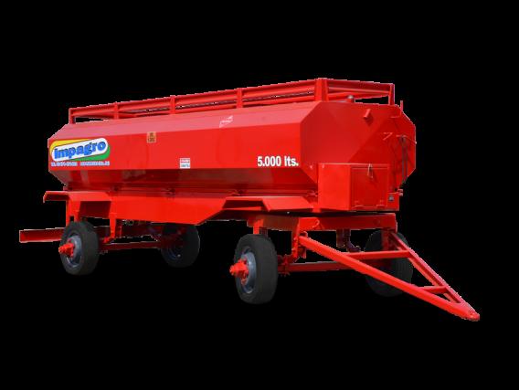 Acoplado tanque de combustible Impagro 5000 Lts