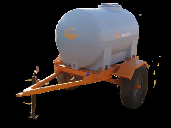Acoplado Tanque De Plástico Comofra 1.000 Lts