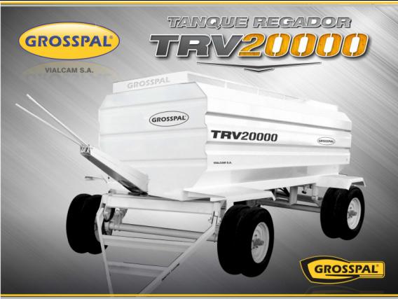 Acoplado Tanque Regador Grosspal Trv 20000