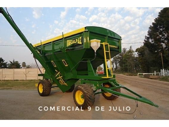 Acoplado Tolva Semilla Y Fertilizante Metalpaz De 16Tn
