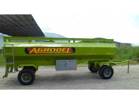 Acoplados Tanque De Combustible De 5.000 Lts- Agrodel