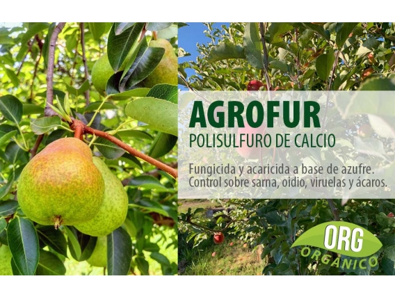 Fungicida Agrofur (Polisulfuro de Calcio) Agro Roca