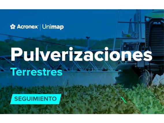 Acronex Unimap Pulverizaciones Terrestres Seguimiento
