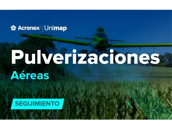 Acronex Unimap Pulverizaciones Aéreas Seguimeinto
