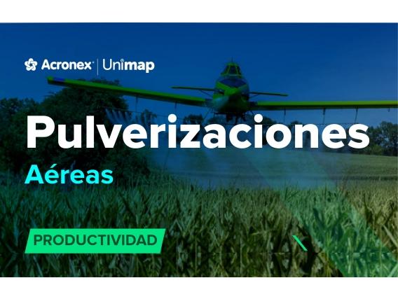 Acronex Unimap Pulverizaciones Aéreas Productividad
