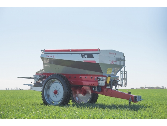 Fertilizadora Fertec F 6500 Set Line