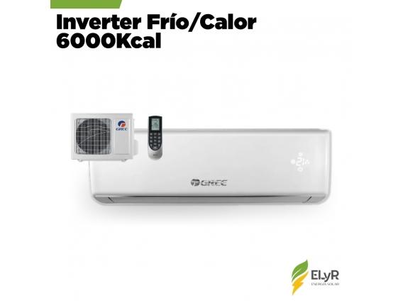 Aire Acondicionado Inverter Frío/calor 6000Kcal