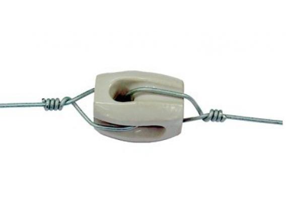 Aislador Porcelana Minirienda Plyrap
