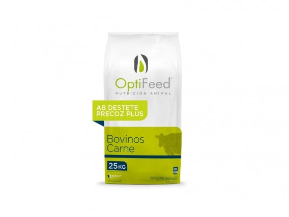 Balanceado OptiFeed Carne Destete Precoz Plus
