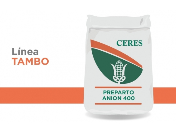 Alimento Balanceado Preparto Anion - 400 Ceres