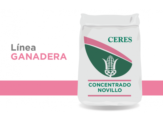 Alimento Concentrado Novillo Ceres