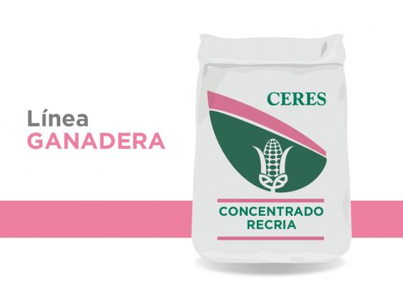 Alimento Concentrado Recría Ceres