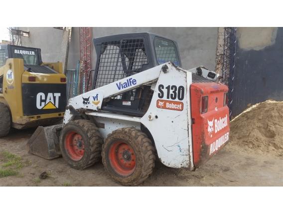 Alquiler Bobcat S130