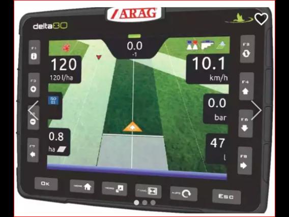 Arag Delta 80 Computadora Mapeador Monitor