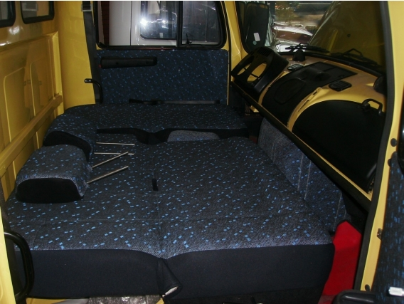 Asientos Cama Mercedes Benz 1114-1518-1521 Belvedere