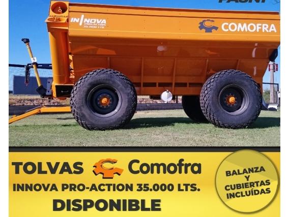 Autodescargable Comofra 35.000 Lt. Con Balanza