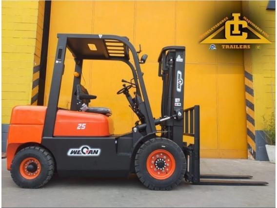 Autoelevador Hangcha Wecan Lonking Ic Forklift 2.5 T