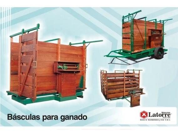 Báscula Para Hacienda Latorre 12000Kg