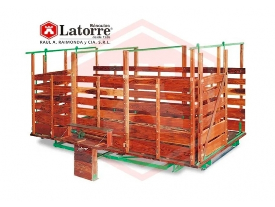 Báscula Para Hacienda Latorre 16000Kg