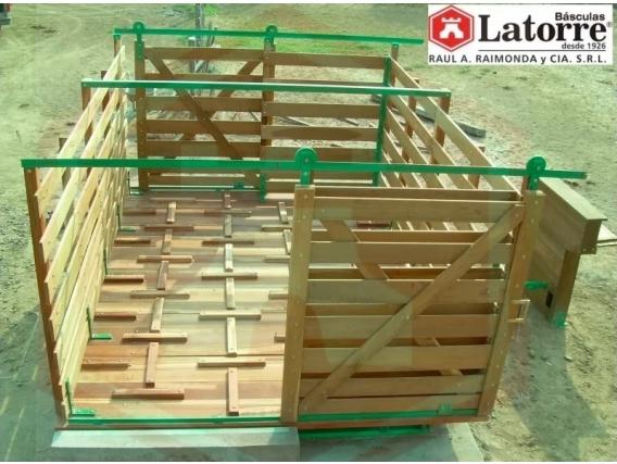 Báscula Para Hacienda Latorre 10000Kg