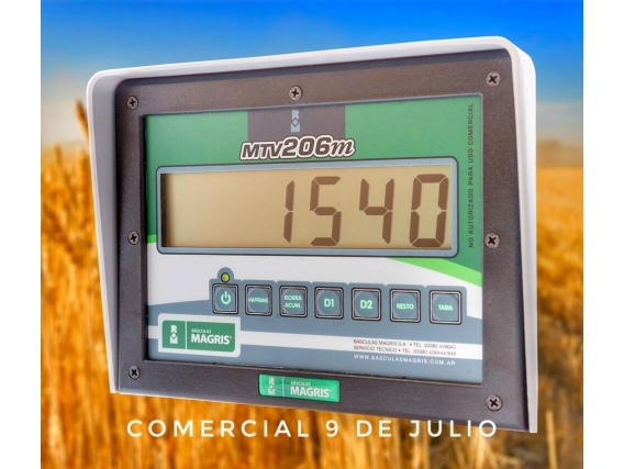 Básculas Magris Monitor Mtv206M - 9 De Julio