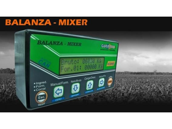 Balanza Para Mixer Guajardo MGB-400