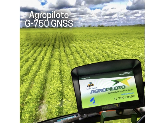 Banderillero Mapeador Satelital Agropiloto G-750