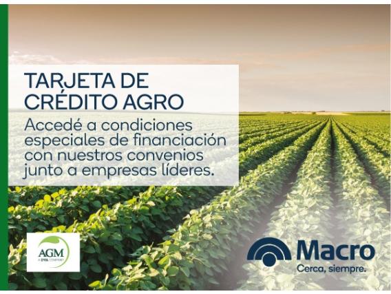 Tarjeta De Crédito Agro - AGM Argentina S.A.