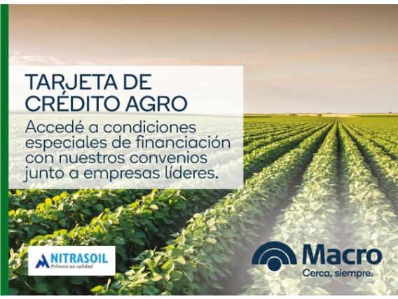 Tarjeta De Crédito Agro - Nitrasoil