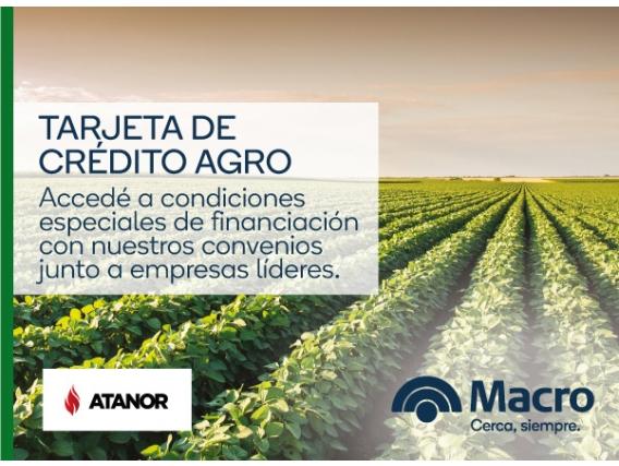 Tarjeta De Crédito Agro - Atanor