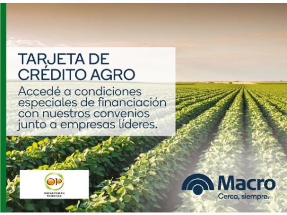 Tarjeta De Crédito Agro - Oscar Pemán y Asociados S.A.