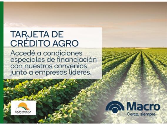 Tarjeta De Crédito Agro - Don Mario Semillas