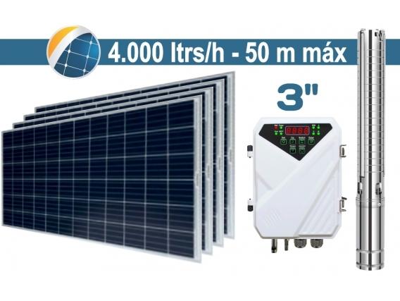 Bomba De Agua Solar Sumergible Seif Energy 3 Pulgadas