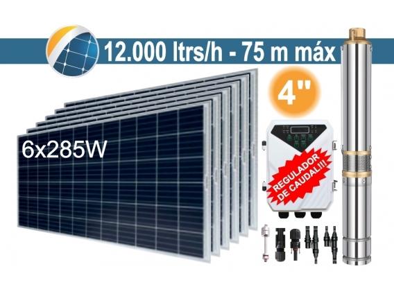 Bomba Sumergible Solar Tornillo Seif Energy 4DLR12-75-72-1100 - 6x285W