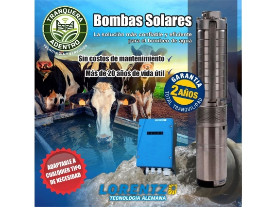 Bombas Solares Lorentz Proyecto A Medida