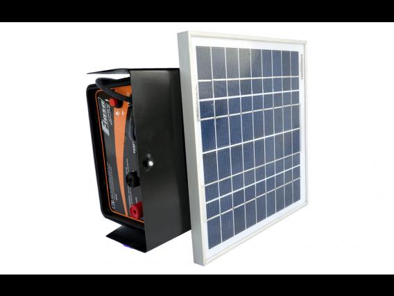 Boyero Electrificador Solar Fiasa Con Batería Se 600 C