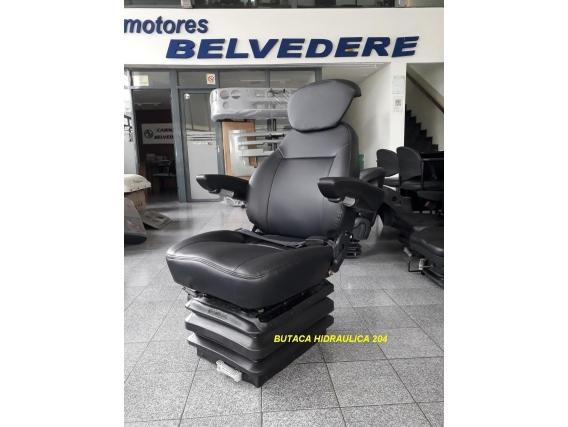 Butaca Operador Hidraulica Maximo Confort Belvedere